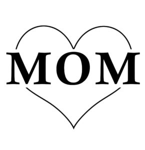 طرح تاتو موقت عاشقانه طرح قلب با مادر