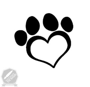 طرح خام قلب برای تاتو