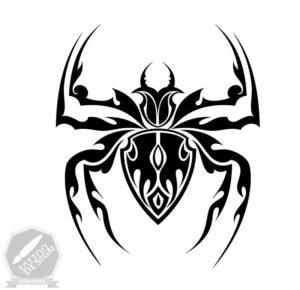 طرح سیاه و سفید اسپایدر (Spider)