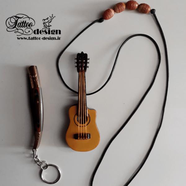 گیتار مینیاتوری دست ساز کوچک