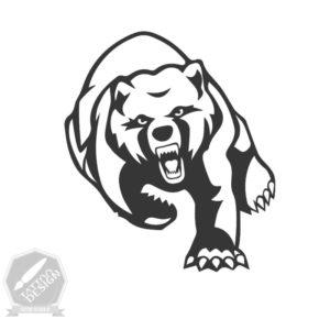 طرح تاتو خرس