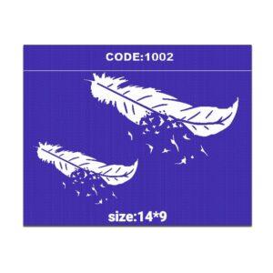 شابلون کد 1002 طرح پر