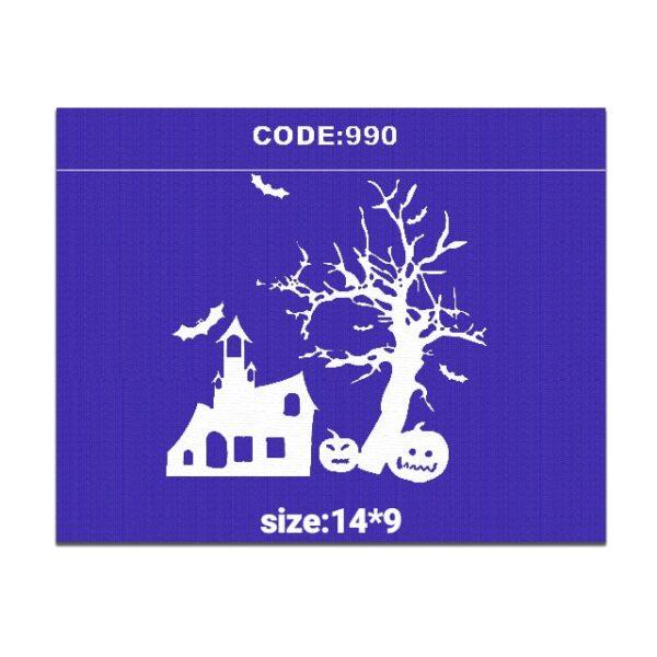 شابلون کد 990 طرح هالووین