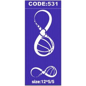 شابلون کد 531 طرح بی نهایت