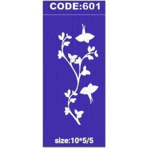 شابلون کد 601 طرح شاخه گل