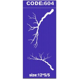 شابلون کد 604 طرح شاخه