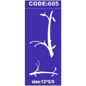 شابلون کد 605 طرح شاخه