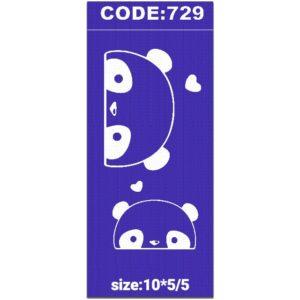 شابلون کد 729 طرح پاندا