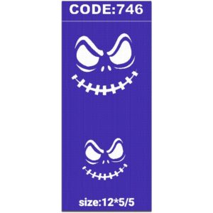 شابلون کد 746 طرح لبخند