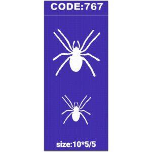 شابلون کد767طرح عنکبوت-min