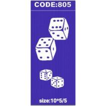شابلون کد 805 طرح تاس