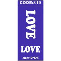 شابلون کد 819 طرح Love