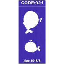 شابلون کد 921 طرح دلفین