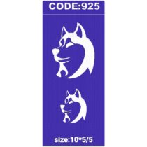 شابلون کد 925 طرح هاسکی