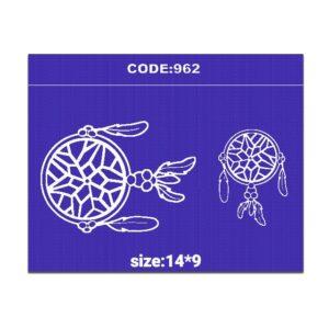 شابلون کد 962 طرح دریم کچر