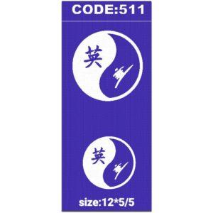 شابلون کد 511 طرح دایره