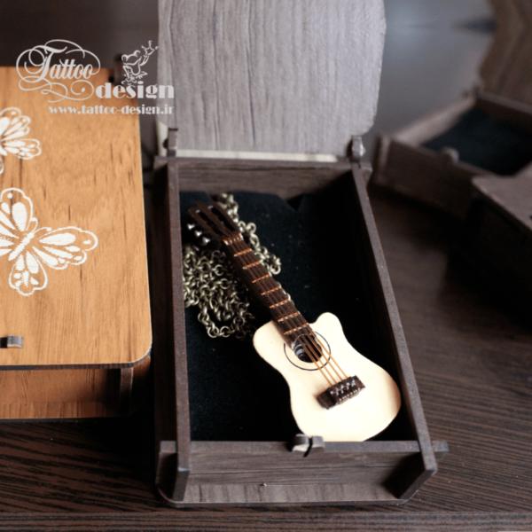 گردنبند گیتار کلاسیک شیک